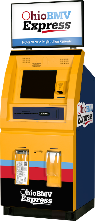 Ohio BMV Express Kiosk